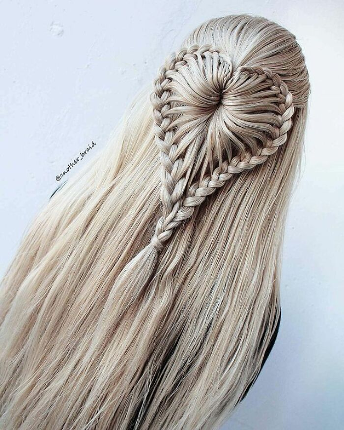 This Macedonian Woman Creates Stunning Braided Hairstyles And Teaches You How To Do It Yourself