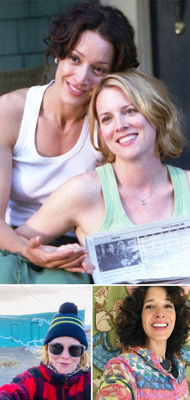 L Más Que Amigas, Bette y Tina (Jennifer Beals y Laurel Holloman)