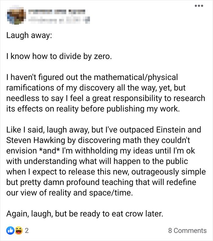 Outpaced Einstein And Hawking