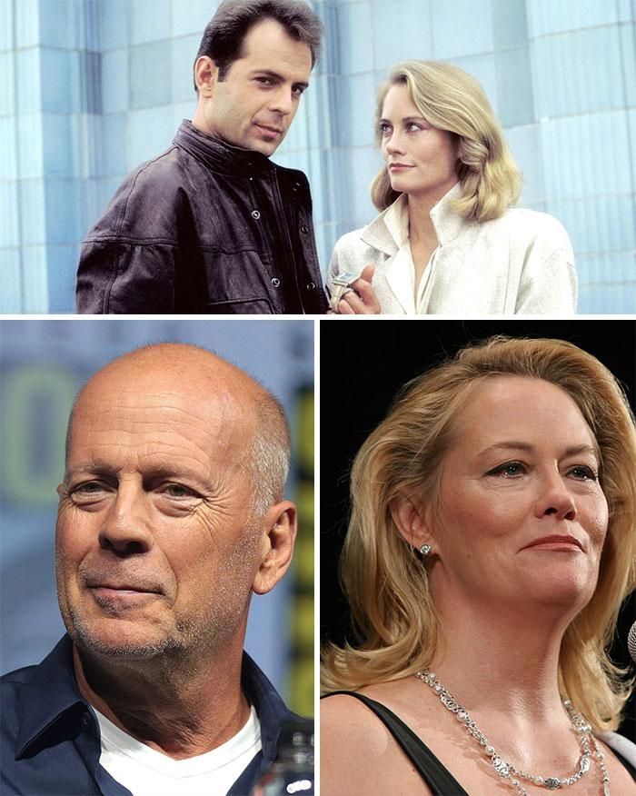Luz De Luna, David y Maddie (Cybill Shepherd y Bruce Willis)