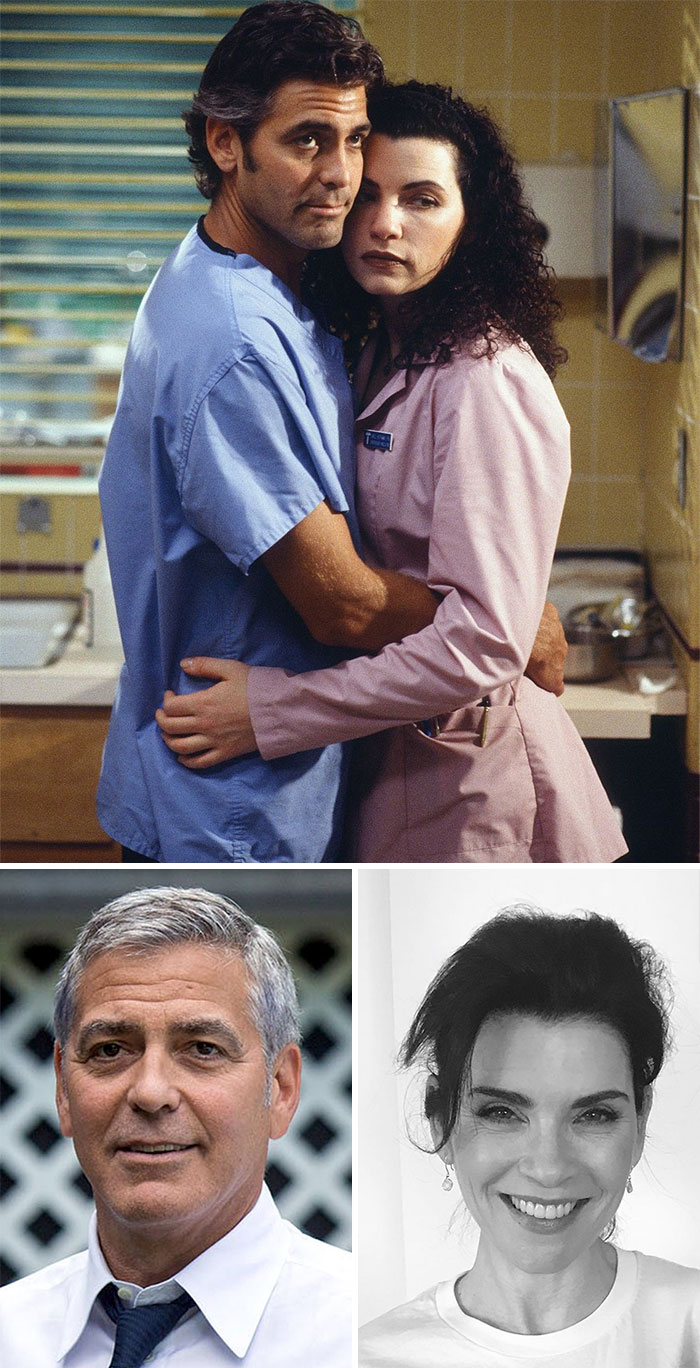 Urgencias, Doug y Carol (Julianna Margulies y George Clooney)