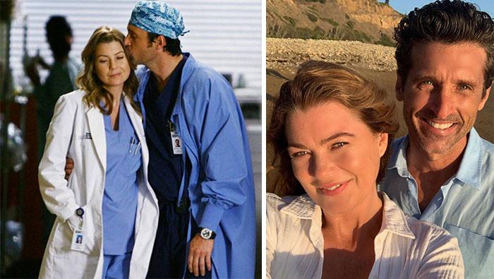 Anatomía De Grey, Meredith y Derek (Ellen Pompeo y Patrick Dempsey)