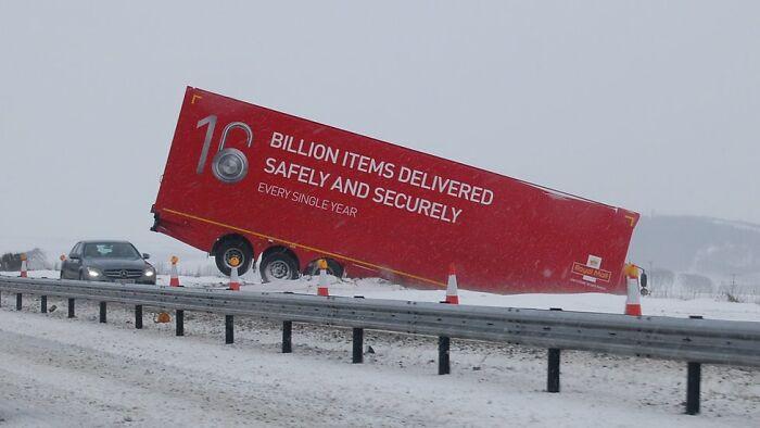 16 billones de productos repartidos de forma segura cada año