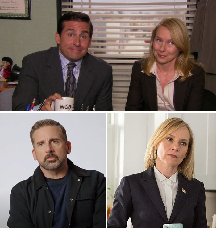 The Office, Michael Scott y Holly Flax(Steve Carell y Amy Ryan)