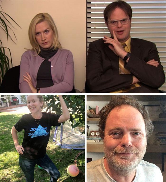The Office, Dwight Schrute y Angela Martin (Rainn Wilson y Angela Kinsey)
