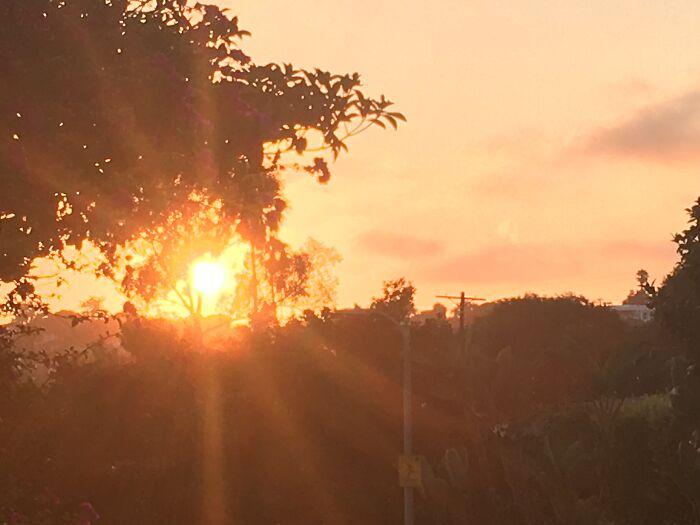 Sunset Near My House
