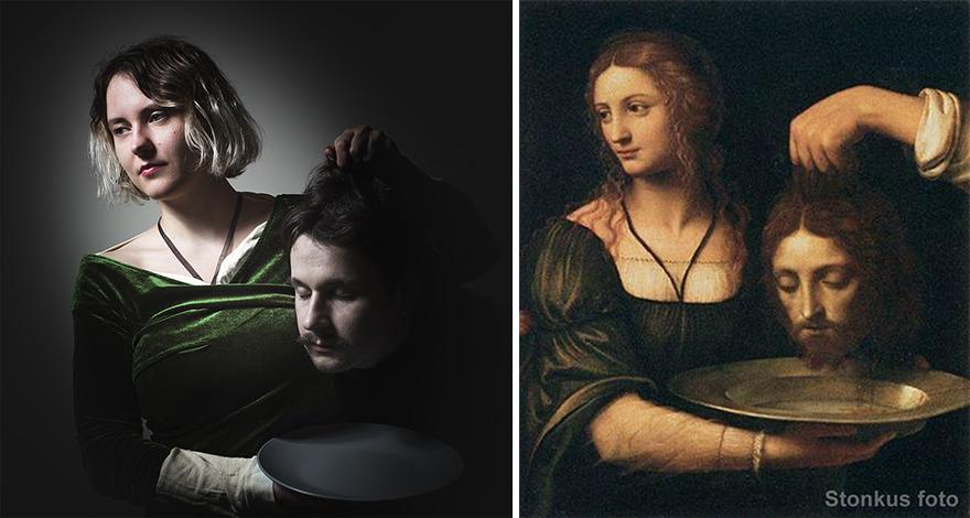 "Bernardino Luini ""Salome Receiving The Head Of St John The Baptist"" (XVI Century)"