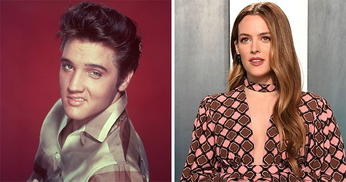 Elvis Presley And Riley Keough