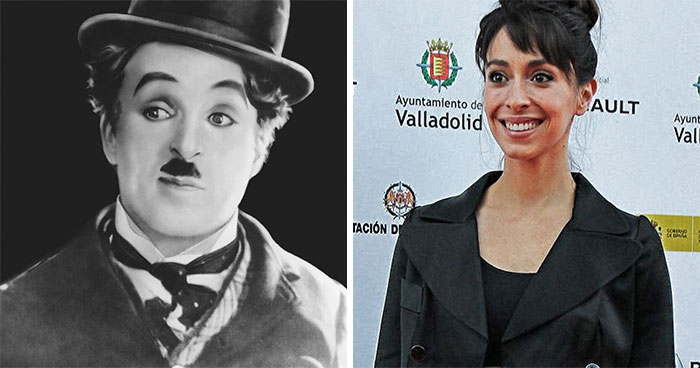 Charlie Chaplin And Oona Chaplin