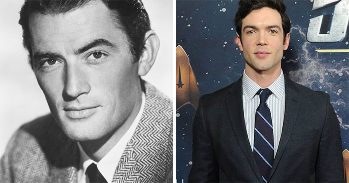 Gregory Peck And Ethan Peck