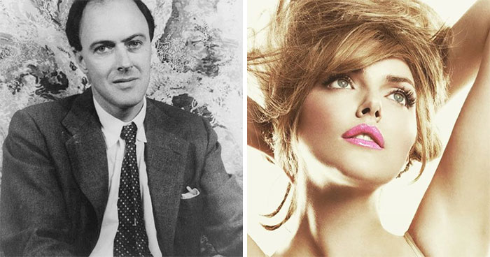 Roald Dahl And Sophie Dahl