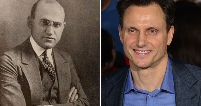 Samuel Goldwyn And Tony Goldwyn