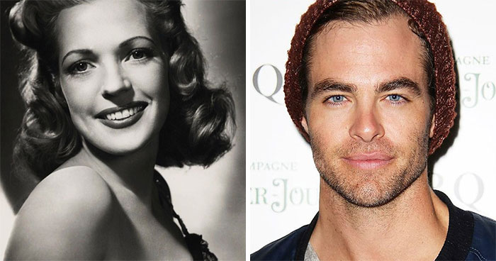 Anne Gwynne And Chris Pine