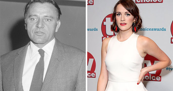 Richard Burton And Charlotte Ritchie