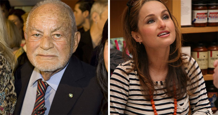 Giada Laurentiis And Dino Laurentiis