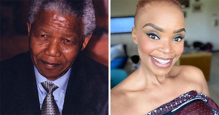 Nelson Mandela And Zoleka Mandela