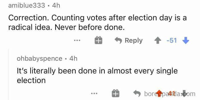 """Counting Votes After Election Day Has Never Been Done Before"""