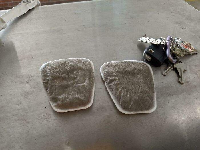 My Mask Filters After One Day Firefighting