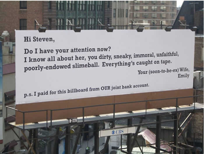 F**k You Steven, Not Mike, Or Jack Or Bob, Just You Steven!