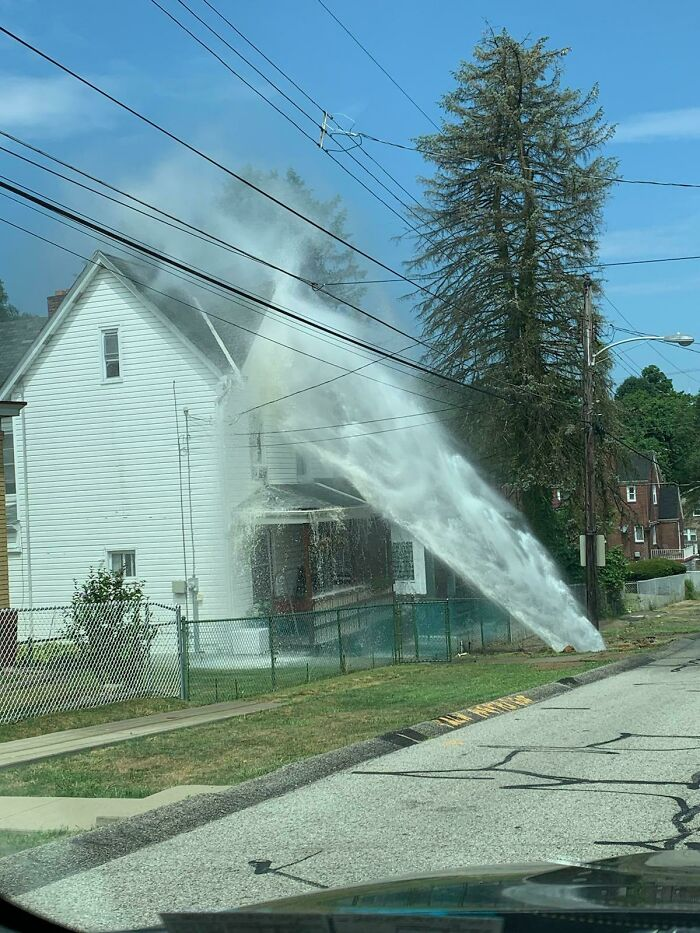 Wcgw If A Water Main Breaks Near Your House