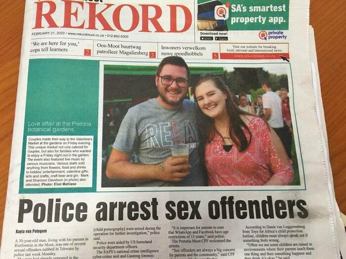 """""""Hey Honey We're Gonna Be On The Front Page"""". The Front Page:"""