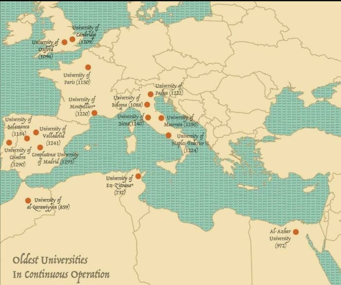 The Oldest Universities In Continuous Operation