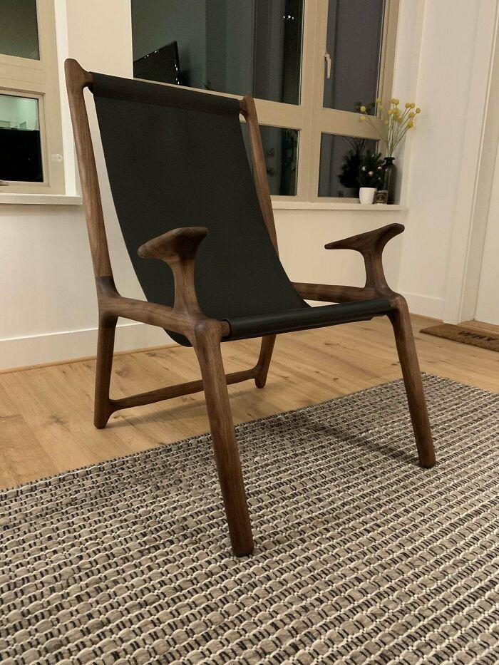 Finalicé esta silla hace unos días
