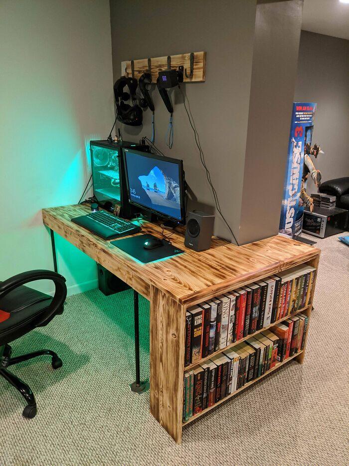 He hecho un escritorio barato