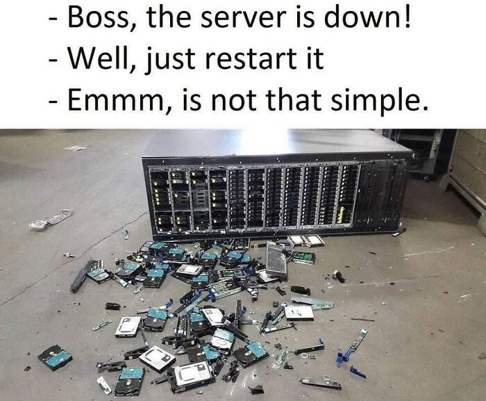 Server Is Down!