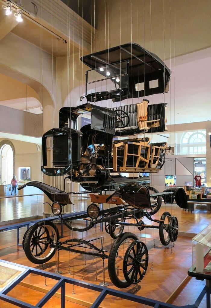 """""""Exploded"""" Ford Model T At The Henry Ford Museum Of Innovation"""