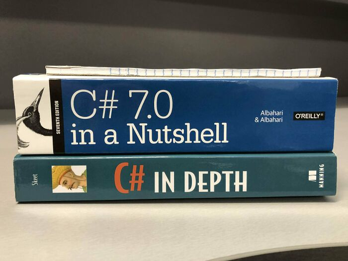 I Feel Like One Of These Books Is Misleading Me