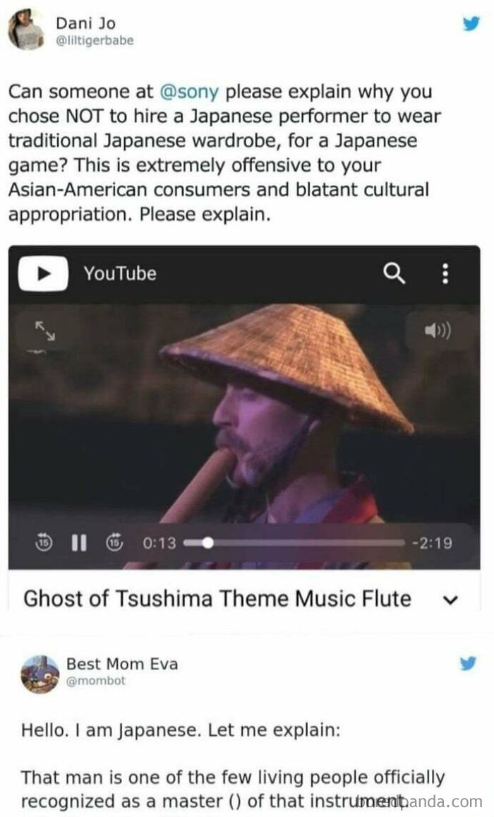 Shakuhachi Master Piled On By Sjws For Being White