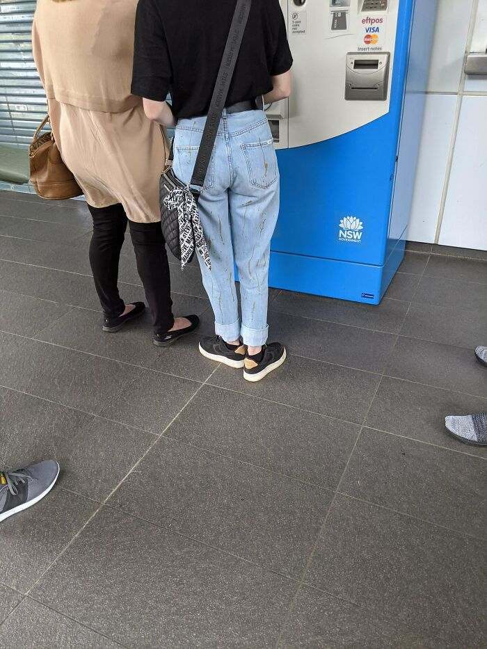 Poop Smear Jeans!