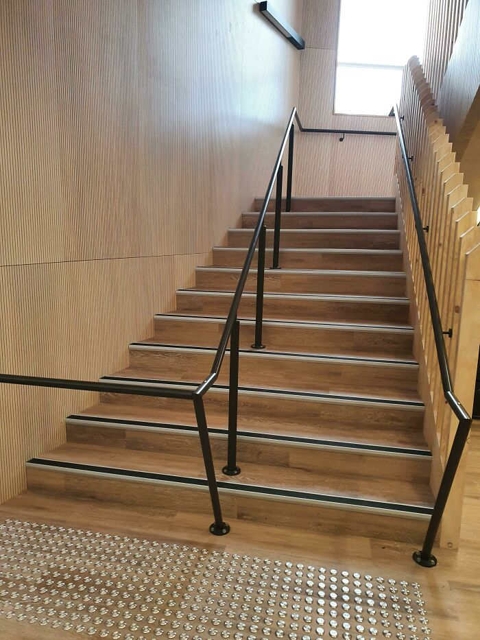 New Staircase At My School