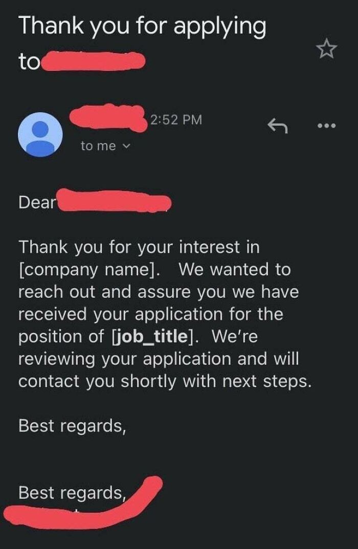 Recruiters Being Recruiters