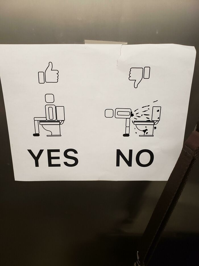 In The Men's Room At My Corporate Place Of Employment