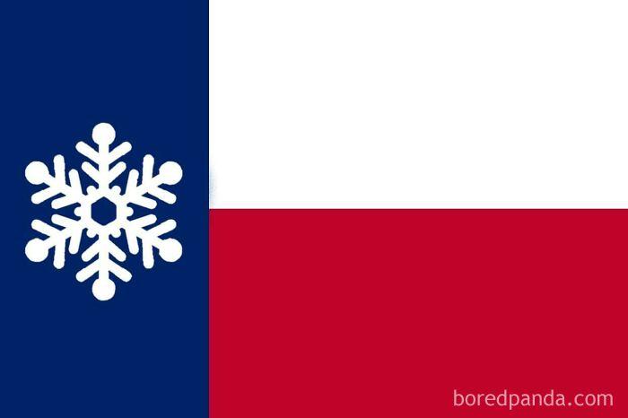 El gran estado de Texas podría haber ganado una nueva bandera