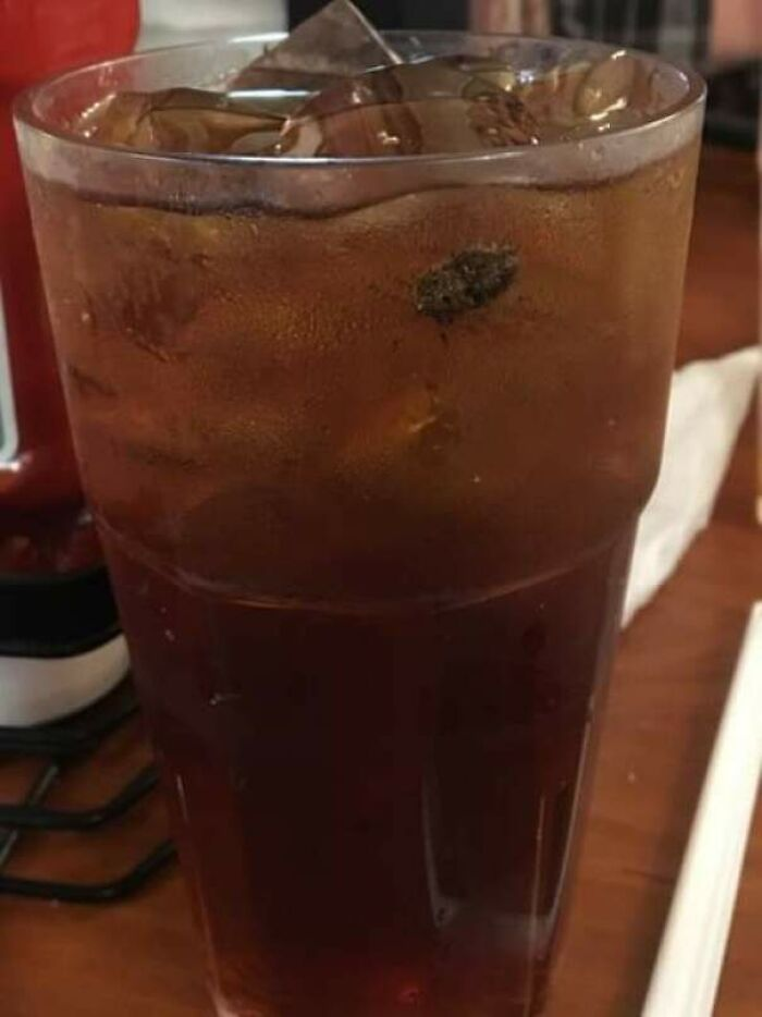 I Found This In My Drink At A Restaurant