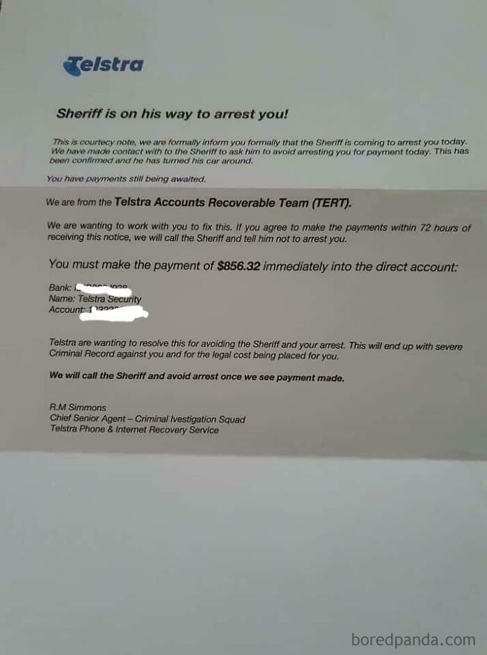 The Most Believable Letter You Will Ever Read!!! I Was Told In Another Subreddit To Post This Here