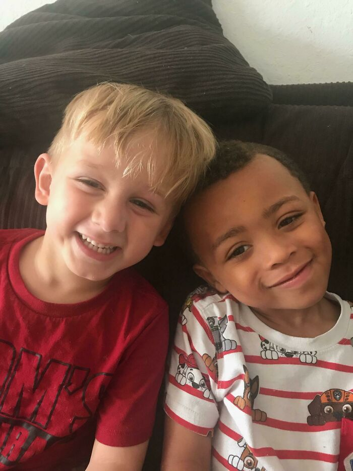 My Sons (Age 4, Adopted From Foster Care) Insist They Are Twins