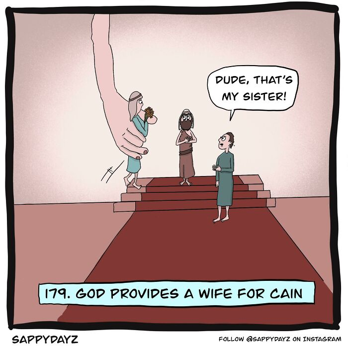 God Provides A Wife For Cain