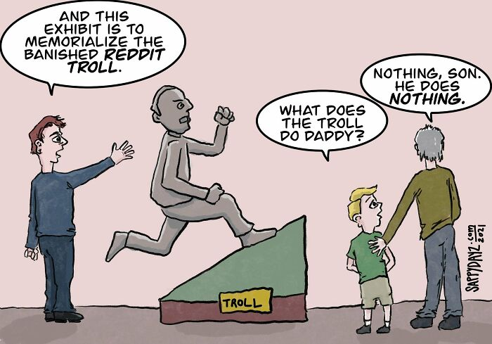 Trolling Uphill