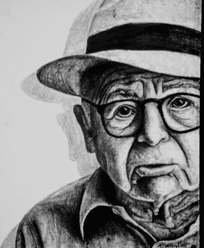 "Charcoal ""Old Man"""