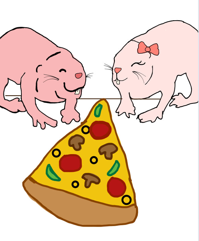 Pizza And A Friend!