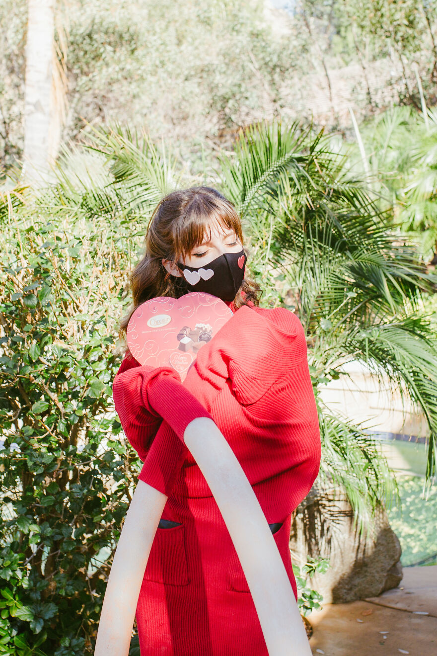 My 'Socially Distanced' Valentine's Shoot With A Few Plot Twists