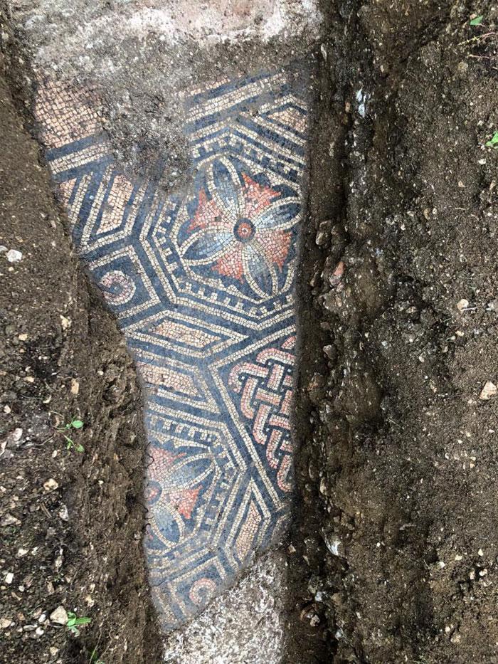 El suelo de una villa romana del siglo III
