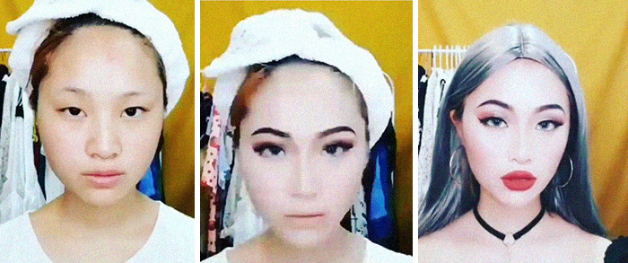 Asians Continue To Surprise With Their Makeup