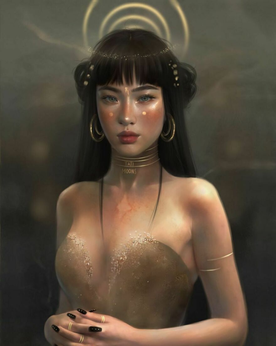 Saturn Goddess, A Ruler Of Aquarius & Capricorn