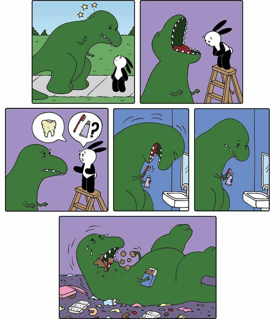 Funny-Cute-Comics-Dark-Endings-Ryan-Pagelow-Bunicomic