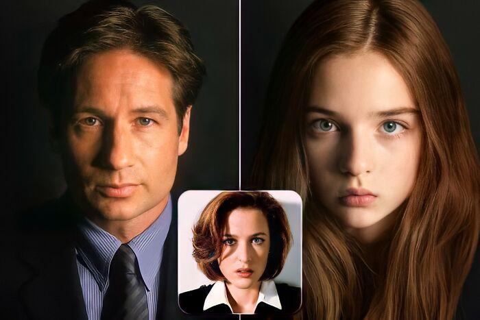 Fox Mulder y Dana Scully (Expediente X)